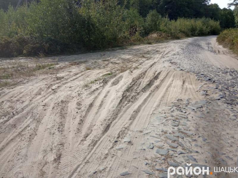 Дорога Шацьк-Вілиця-Прип'ять-Любохини