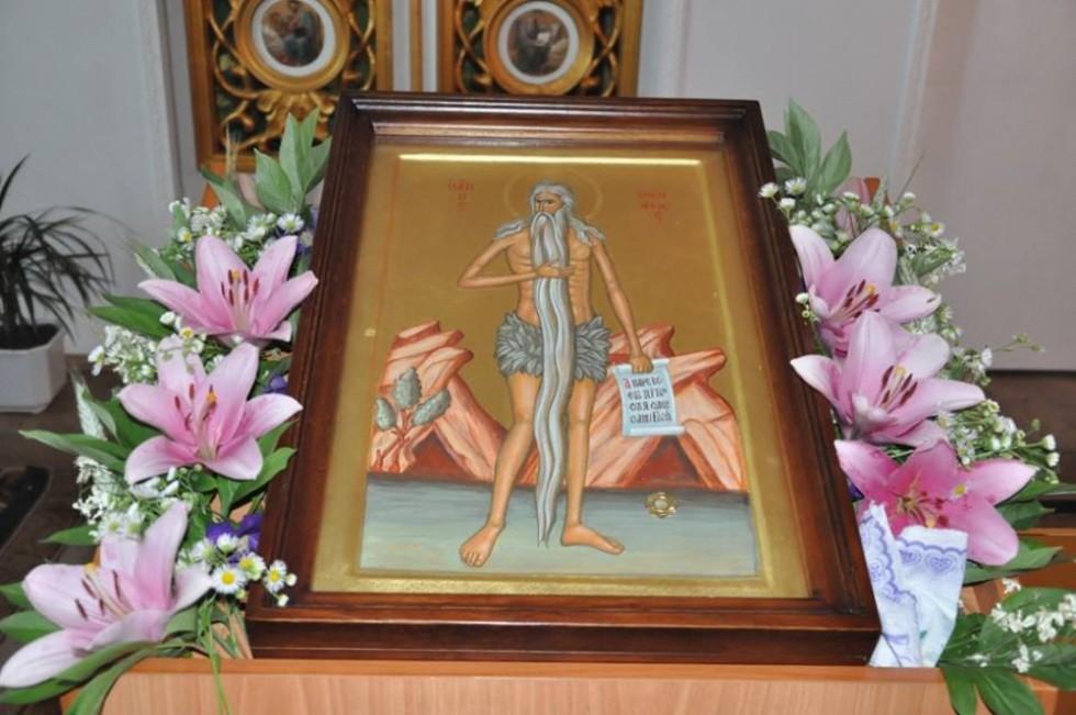 Ікона святого Преподобного Онуфрія Великого
