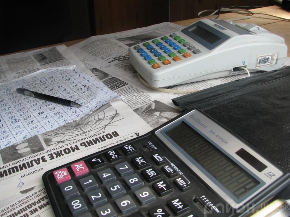 Касовий апарат видає платникам чеки