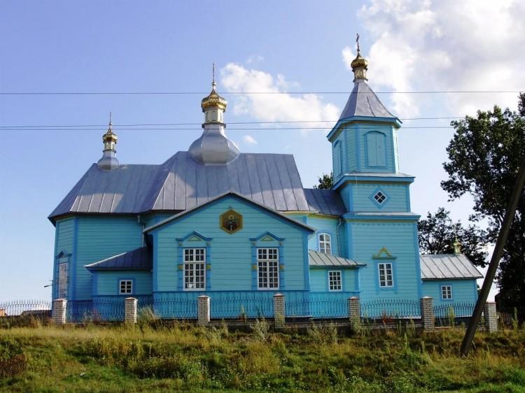 Древній Піщанський храм на честь ікони Казанської Божої Матері