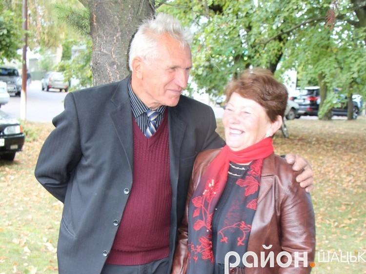 Євген Цвид і Людмила Захарченко