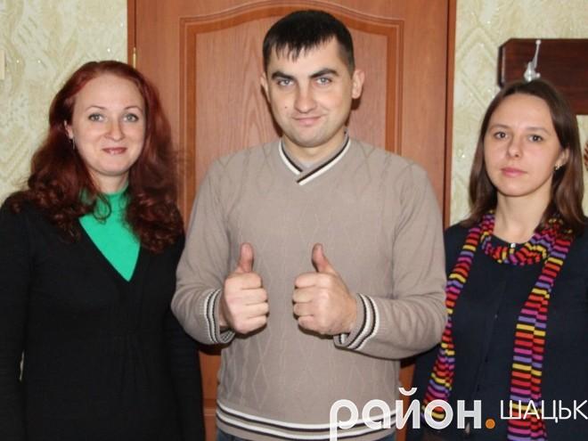 Елеонора Романович, Андрій Цюп'ях та Оксана Устенко