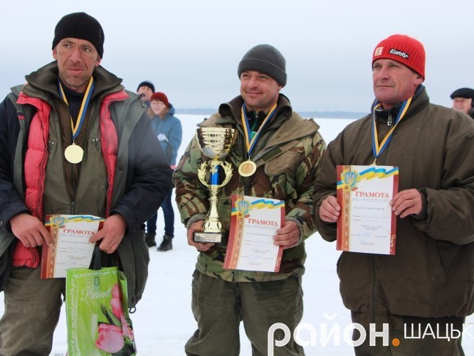 Переможці змагань - команда «Пірат» із села Світязь