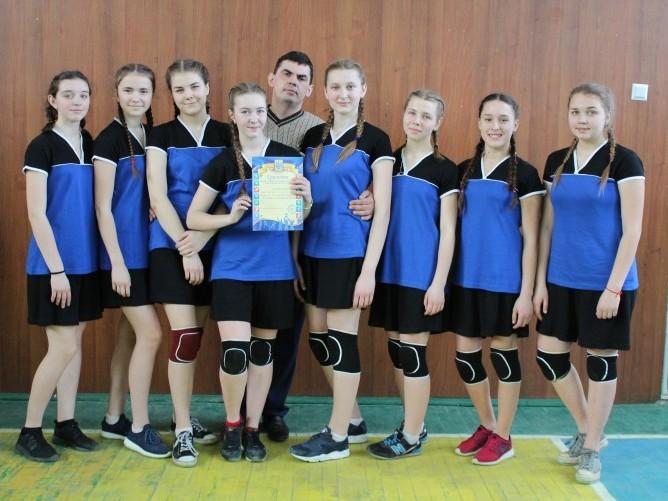 Команда ЗОШ І-ІІІ ст. - гімназії смт Шацьк