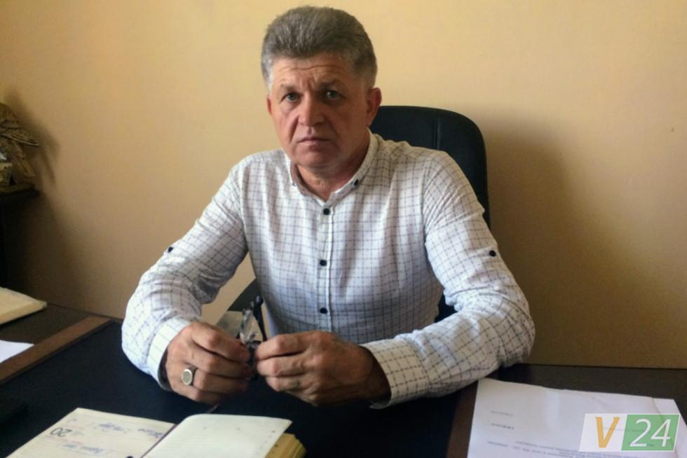 Директор КП «Будинкоуправління» Іван Коваль