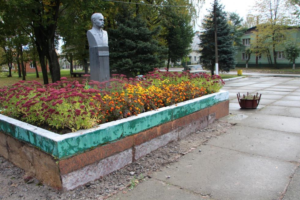 Таким був пам'ятник Шевченку