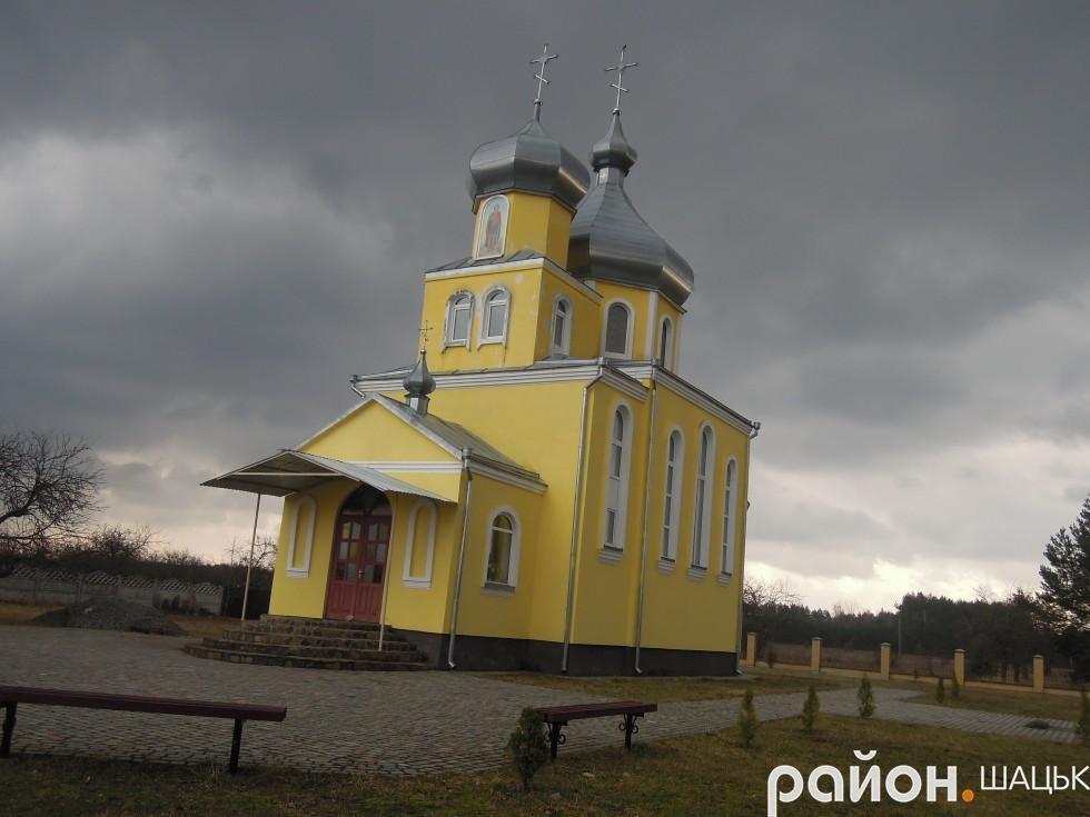 Храм Дмитра Солунського