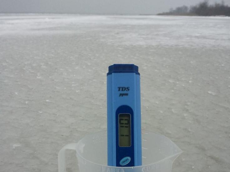 Завдяки спеціальному пристрою можна визначити рівень мінералізації води