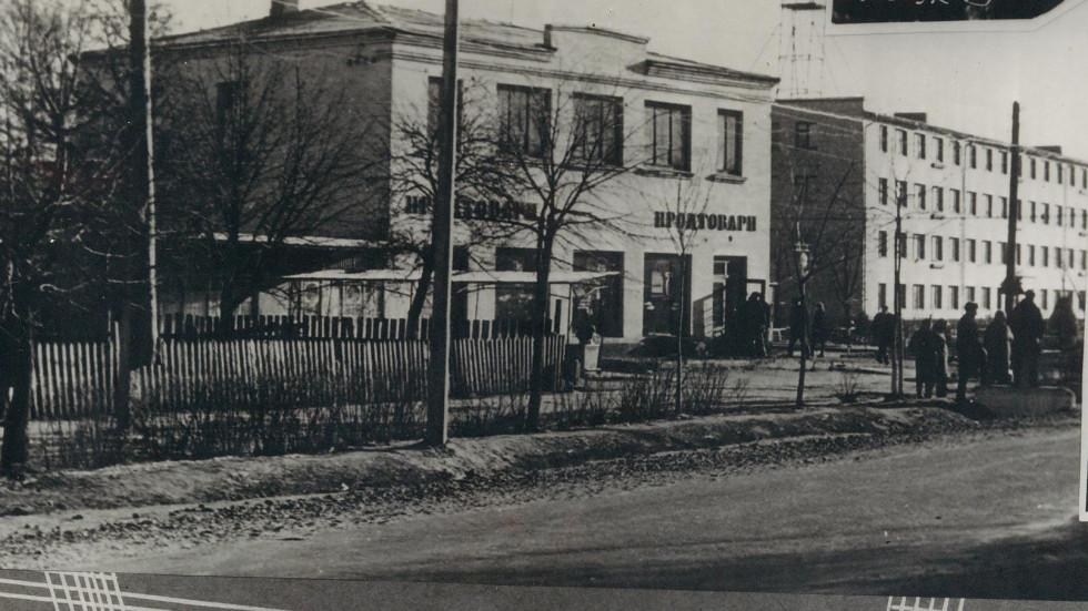 Центральний магазин у Шацьку