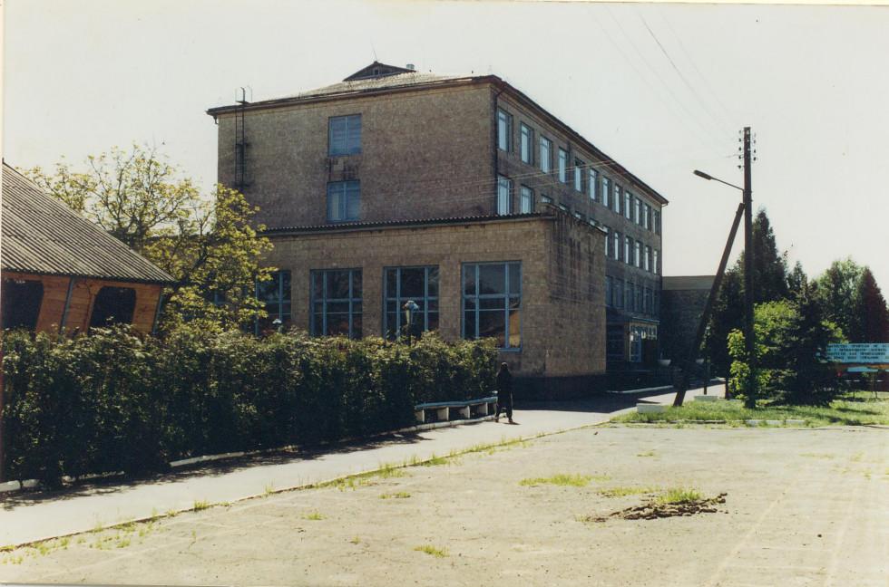 Головний корпус Шацького лісового коледжу