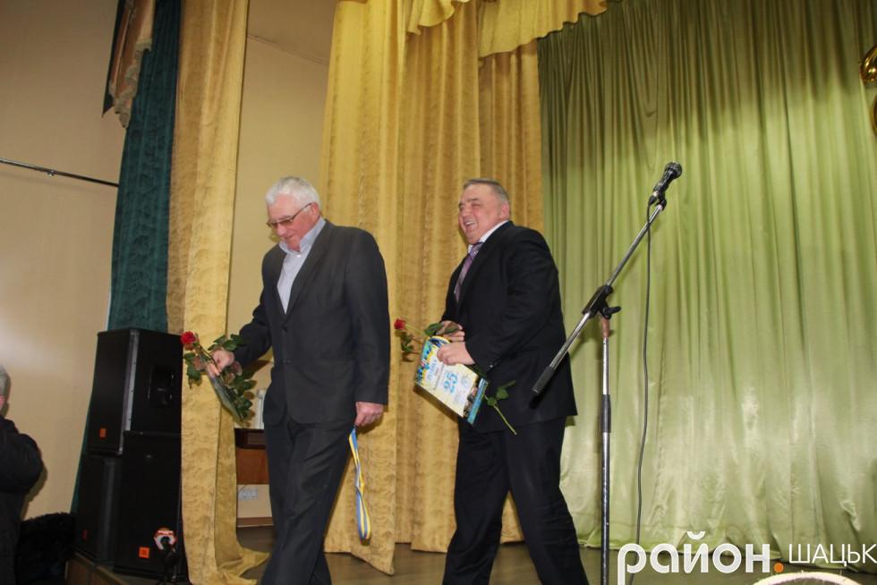 Нагороди - Володимирові Найді та Володимирові Голядинцю