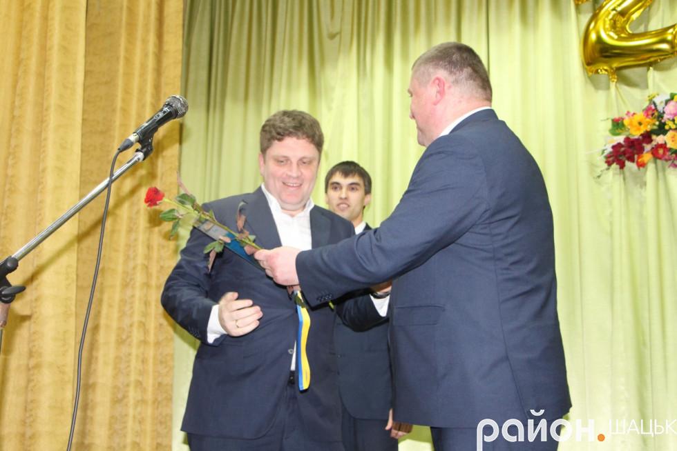 Дениса П'ятигорця також відзначили в адміністрації