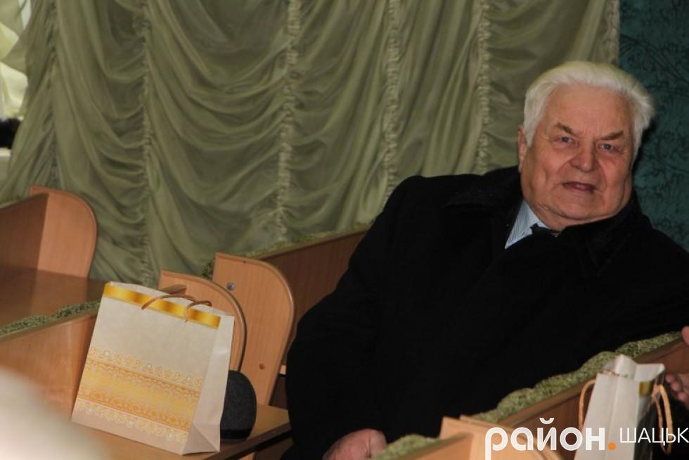Один з ініціаторів створення району - Адам Дударчук