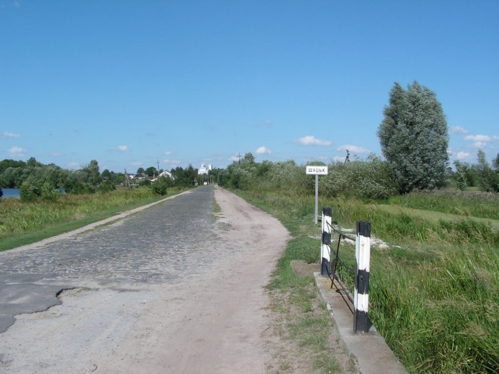 Ймовірно, справа від цієї дороги було стародавнє місто Рай