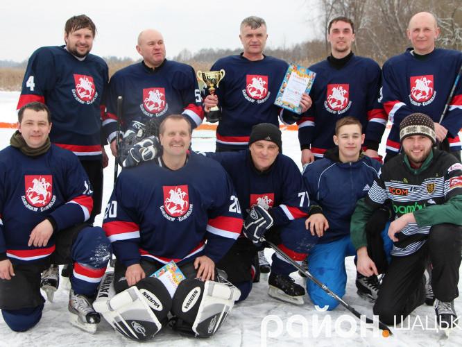 Переможці турніру - команда з міста Володимир-Волинський
