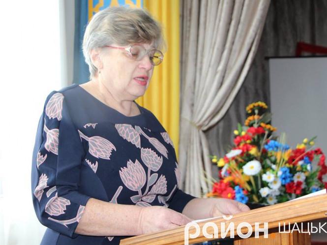 Тетяна Сидорук, заступник директора з навчально-виховної роботи Шацької школи-гімназії