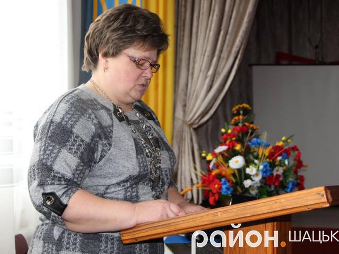 Наталія Микитчук, завідуюча ДНЗ села Світязь