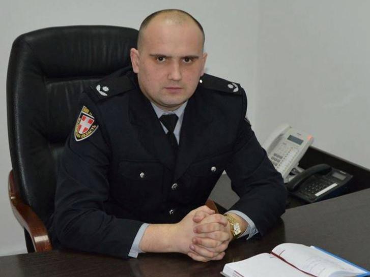 Андрій Семенюк, начальник Шацького відділення поліції