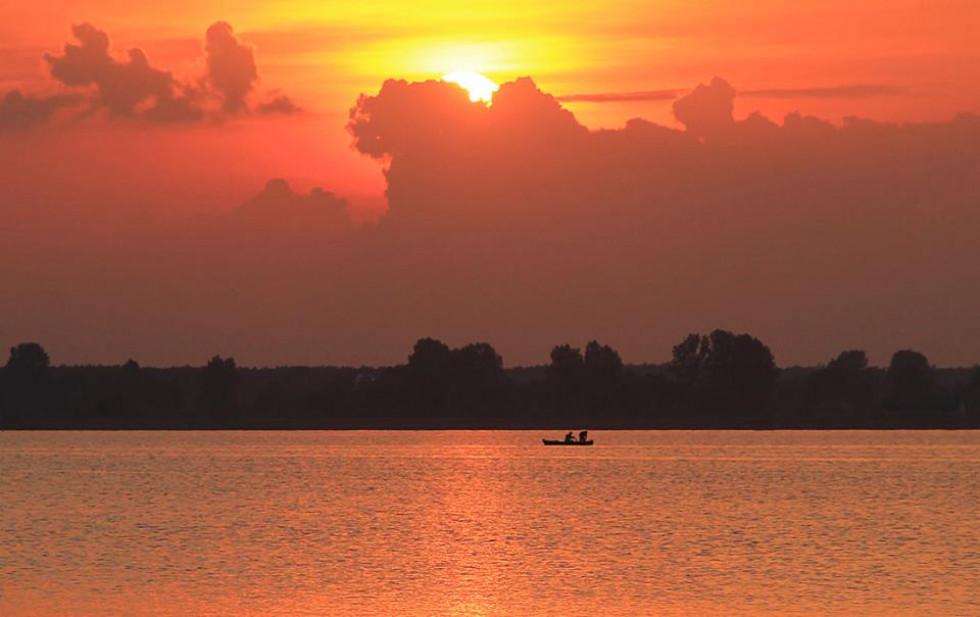 Осінь на Пулемецькому озері