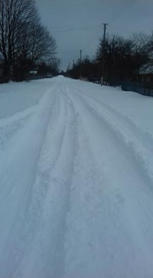 Вранішня дорога в Плоскому