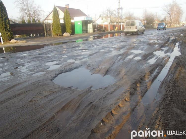 Вулиця Шковороди в Шацьку: її ремонт взято на контроль голови РДА