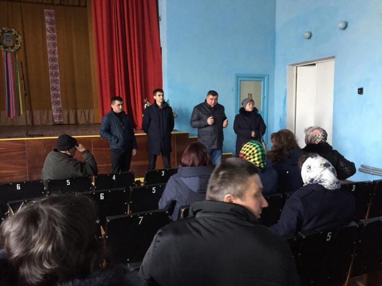 Збори у Піщанському Будинку культури
