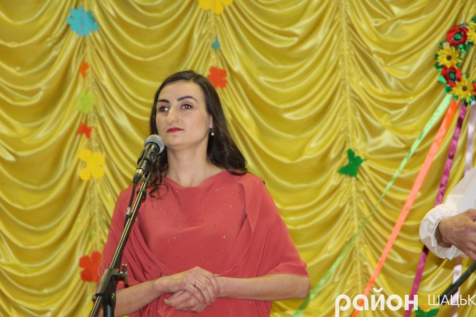 Співає Олеся Матяшук