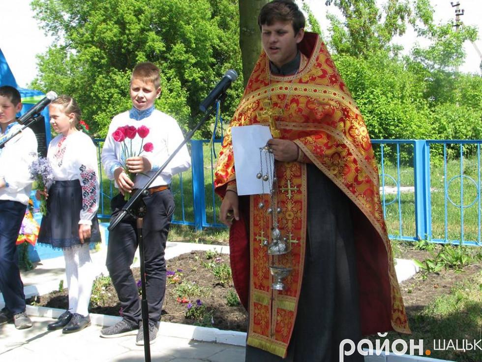 Отець Андрій помолився за вбитих кропивничан