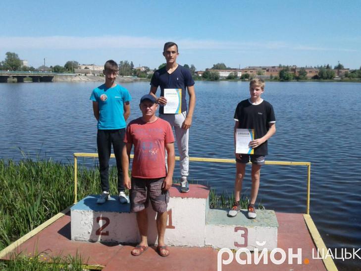 На ІІІ місці - вихованець Шацької ДЮСШ Олександр Литвинчук