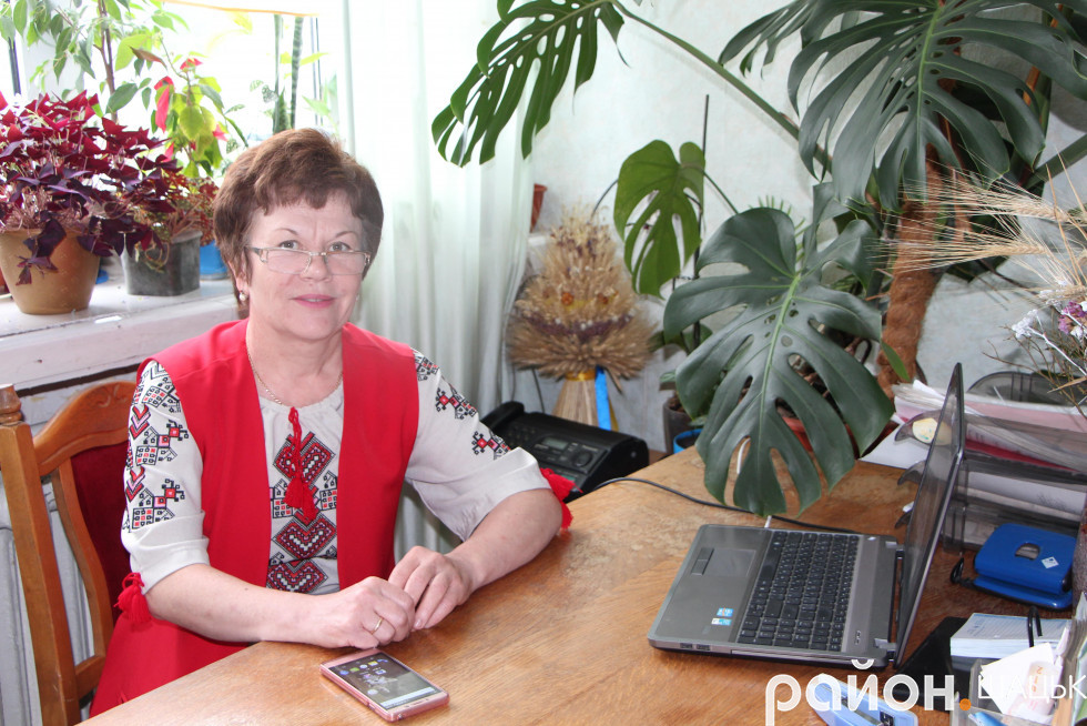 Галина Носуліч, начальниця відділу регіонального розвитку, екології та залучення інвестицій РДА