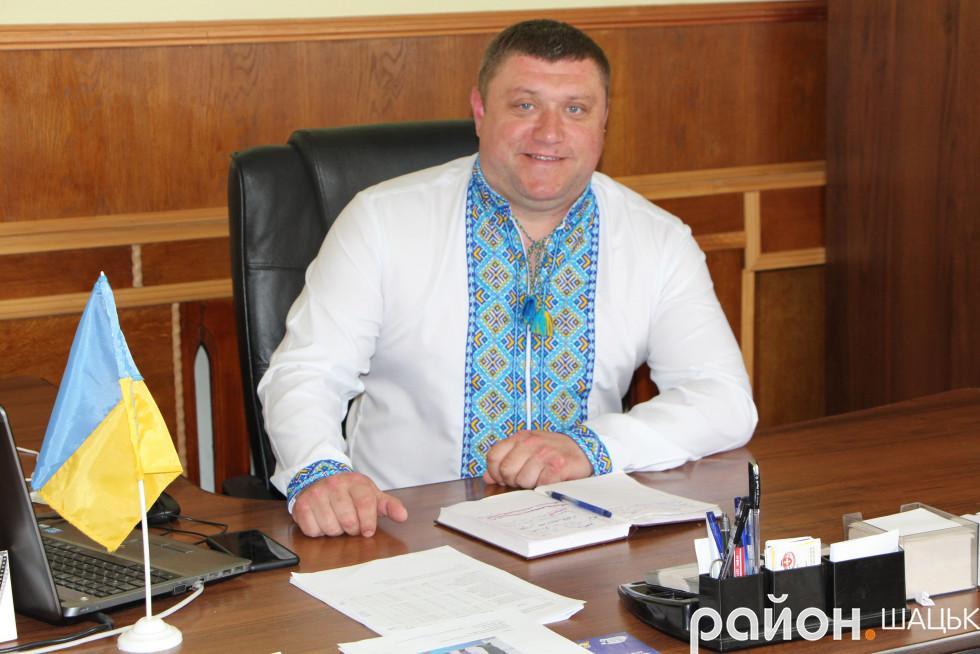 Василь Голядинець, голова Шацької РДА