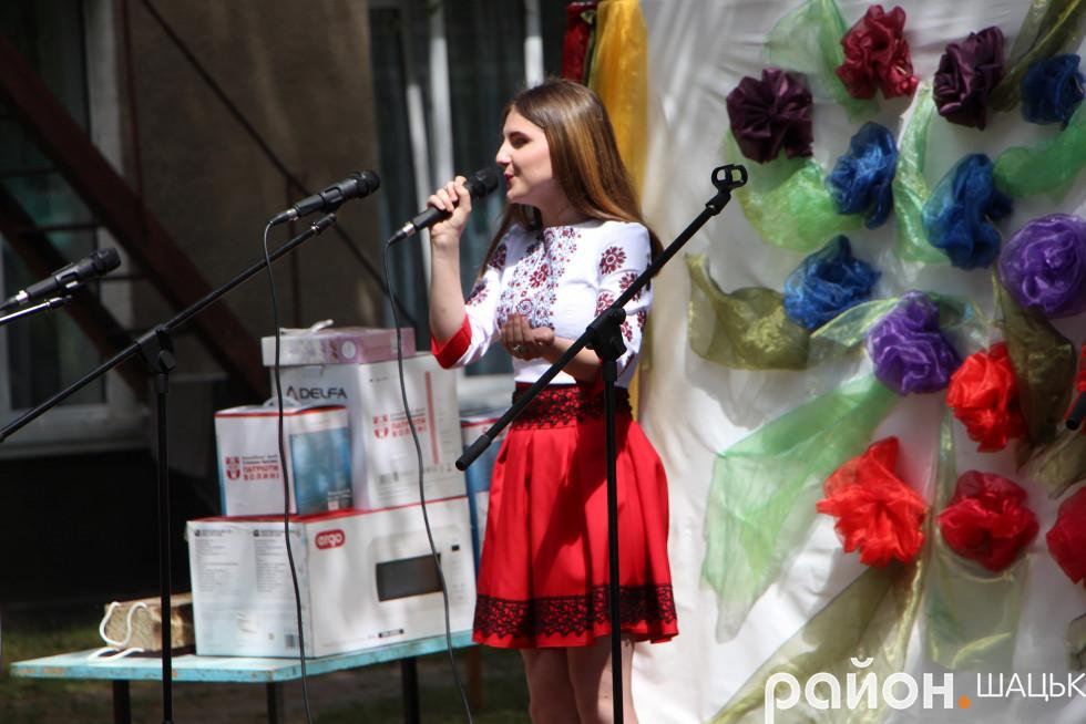 Самійличівська співуня Оксана Цвинкилевич