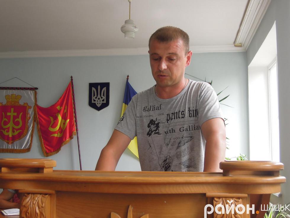 Сергій Гірич ознайомив присутніх із темою слухань