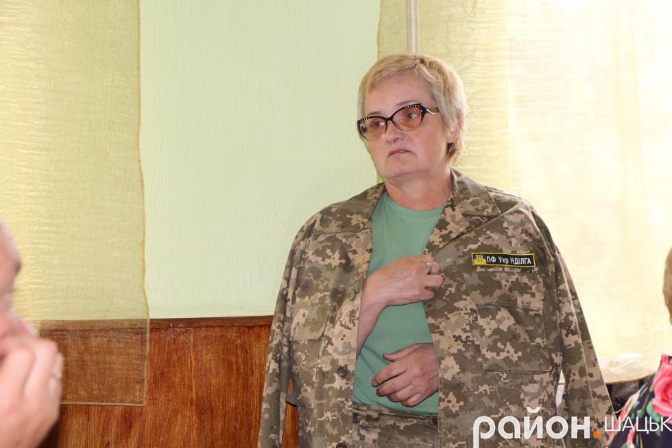 Науковець Олена Бородавка