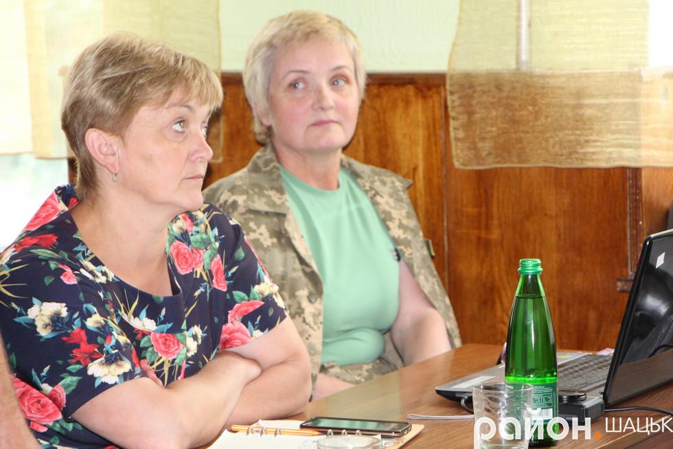 Людмила Цевух та Олена Бородавка