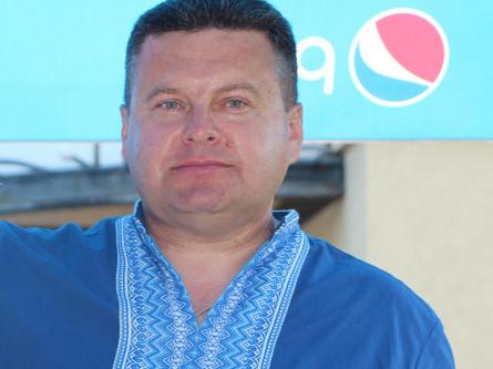 Сьогодні день народження у Віктора Грицюка, редактора районної газети «Шацький край»