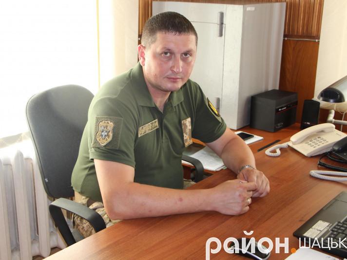 Новопризначений комісар Олег Кивлюк