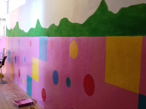 Креативні стіни Пульмівської школи