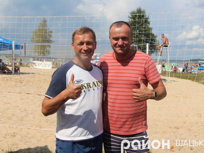 Спонсори турніру Юрій Гупало і Петро Нестерук