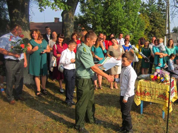 Піщанських школярів нагородили за перемогу в обласних конкурсах