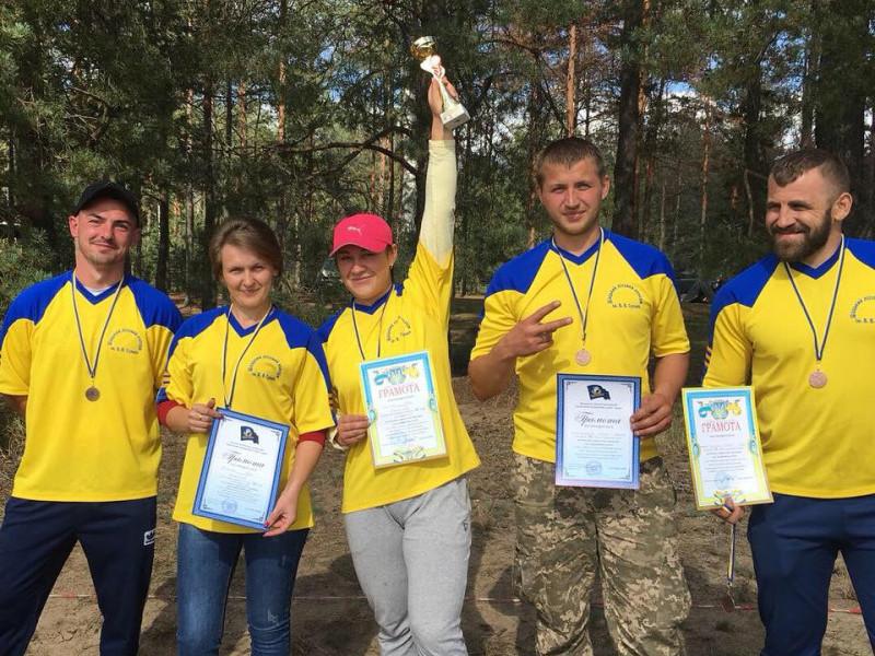 Команда Шацького лісового коледжу
