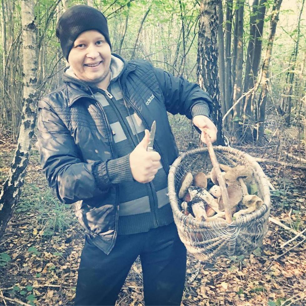 Ліс, гриби і гарний настрій. Фото Романа Штандера