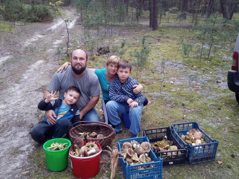 Вдалий похід в ліс священика Володимира Гички