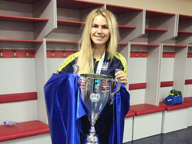 Юлія Дударчук - одна з найсильніших футзалісток України