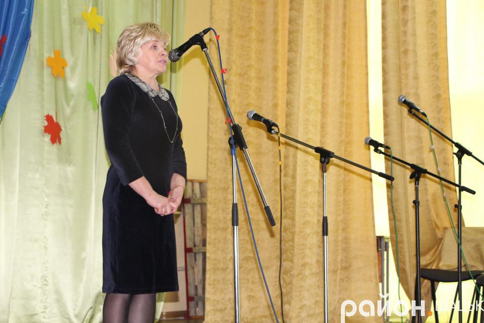 керуюча справами районної ради Ольга Сахарук