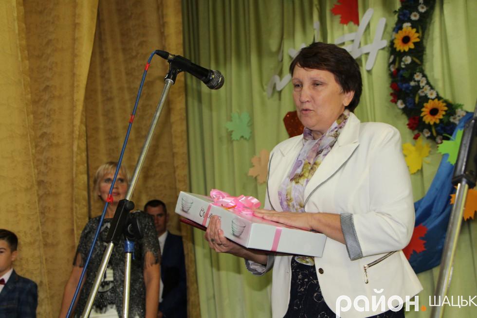 директорка Ростанської школи Алла Семенюк