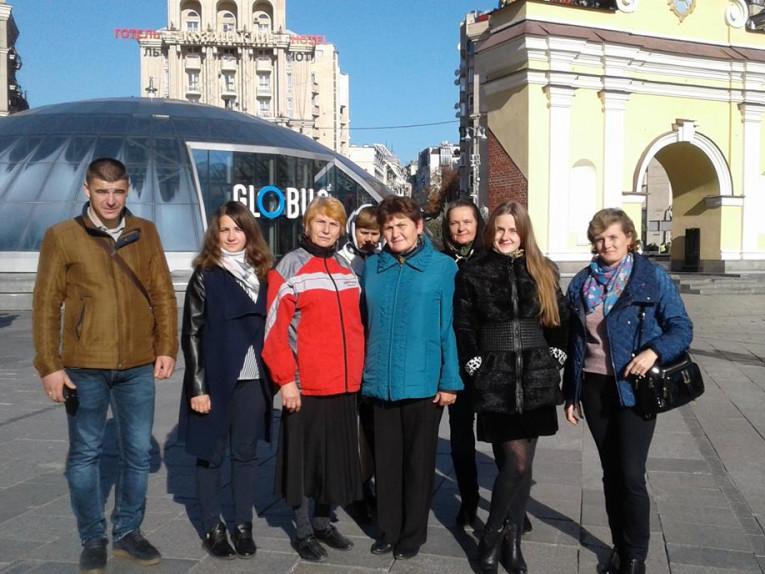 Делегація з Шацького району побувала в столиці, де стала учасником урочитостей