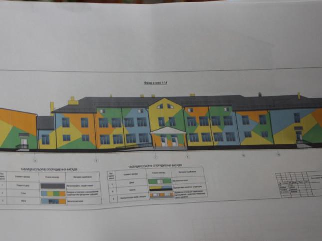 Проект реконструкції Піщанської школи