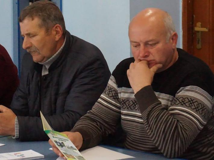 У семінарі взяли участь старости Іван Гінчук та Олександр Кусько