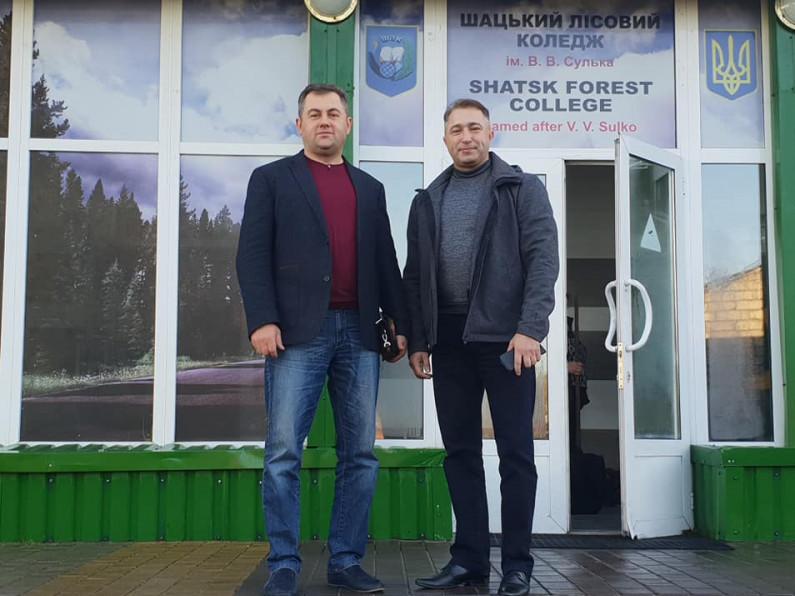 Петро Савчук та Ігор Жмурко домовилися про співпрацю навчальних закладів